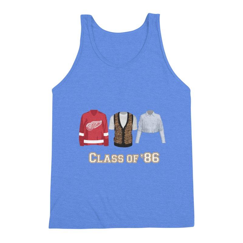 Class of '86 Men's Triblend Tank by Angela Tarantula