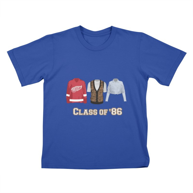 Class of '86 Kids T-shirt by Angela Tarantula