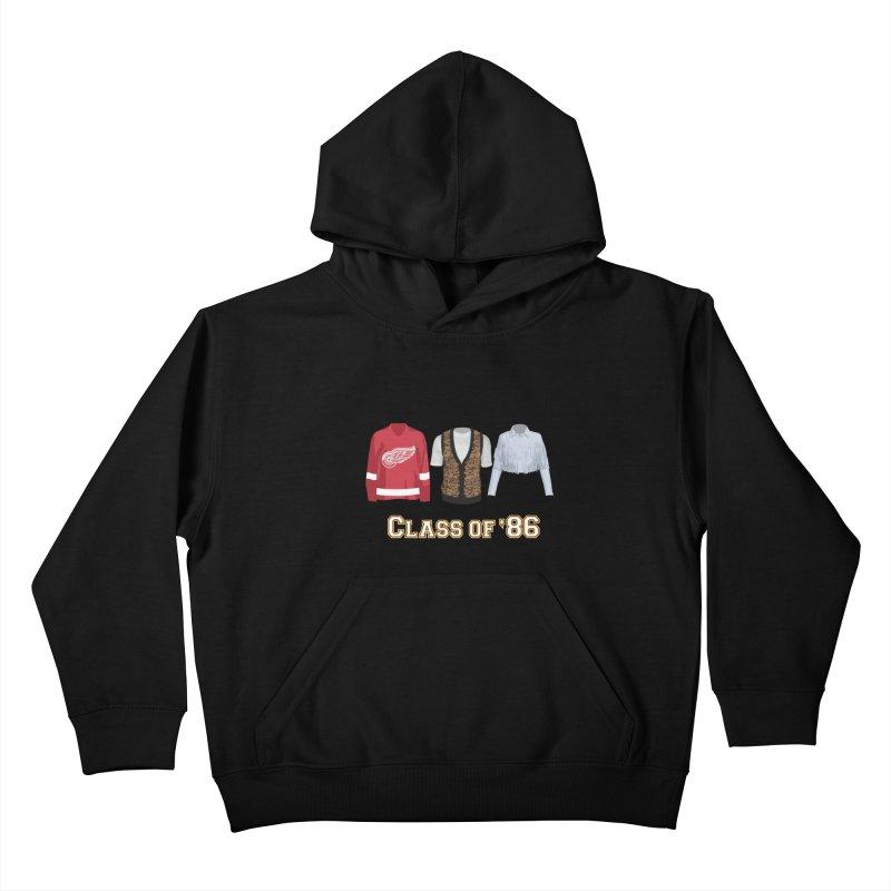 Class of '86 Kids Pullover Hoody by Angela Tarantula