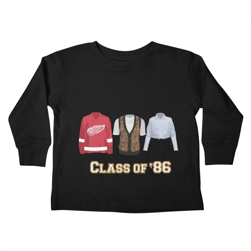 Class of '86 Kids Toddler Longsleeve T-Shirt by Angela Tarantula