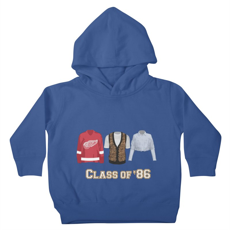 Class of '86 Kids Toddler Pullover Hoody by Angela Tarantula