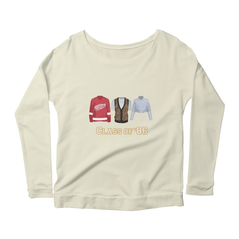 Class of '86 Women's Scoop Neck Longsleeve T-Shirt by Angela Tarantula