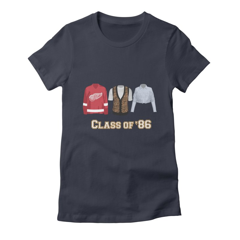Class of '86 Women's Fitted T-Shirt by Angela Tarantula