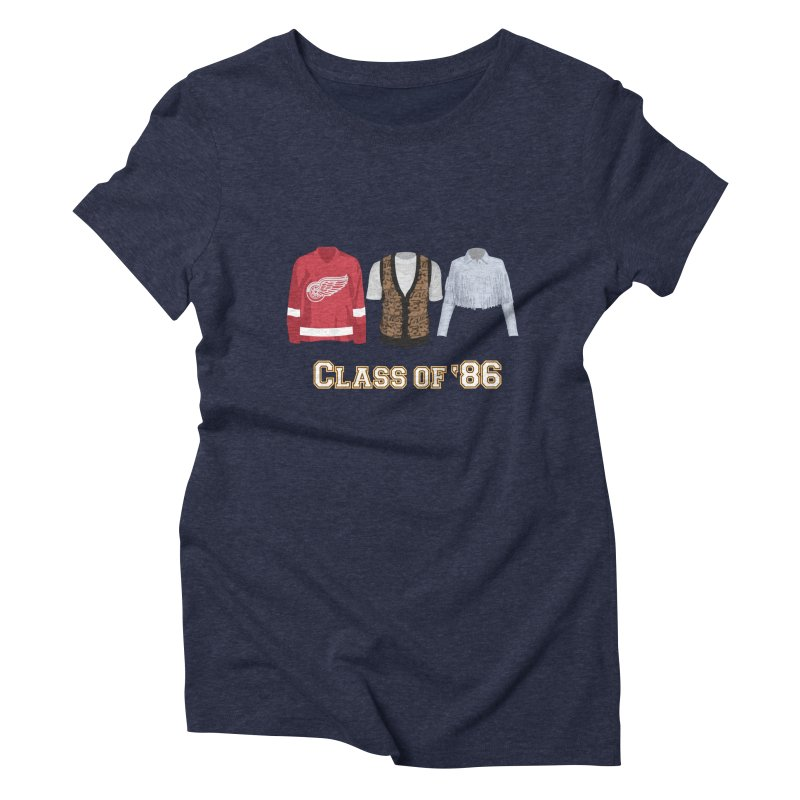 Class of '86 Women's Triblend T-shirt by Angela Tarantula