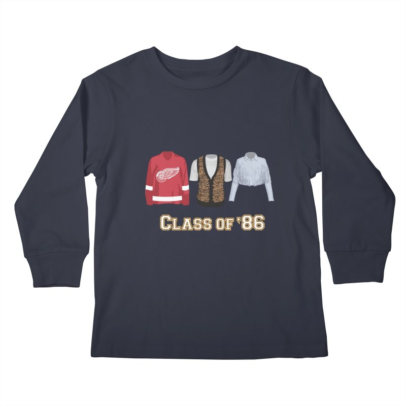 Class of '86 Kids Longsleeve T-Shirt by Angela Tarantula