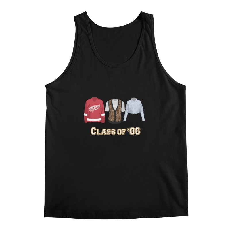 Class of '86 Men's Tank by Angela Tarantula