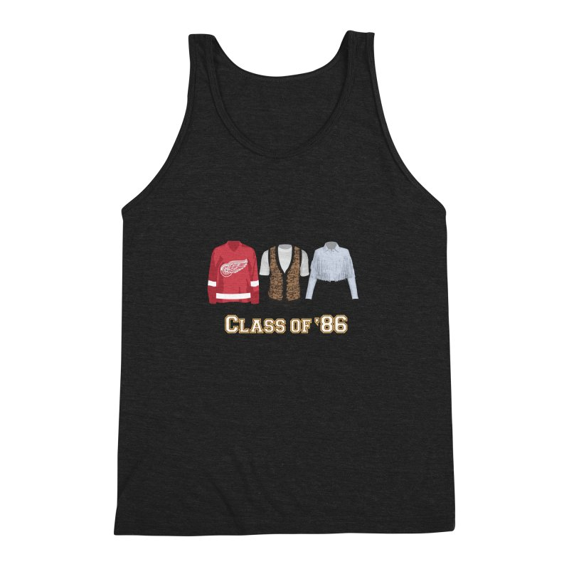 Class of '86 Men's Triblend Tank by Angela Tarantula