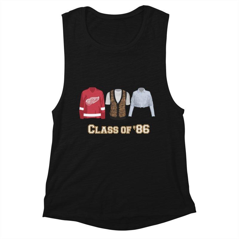 Class of '86 Women's Muscle Tank by Angela Tarantula