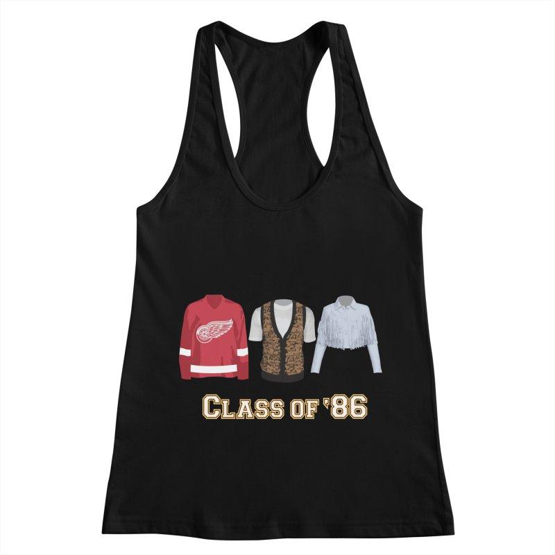 Class of '86 Women's Racerback Tank by Angela Tarantula
