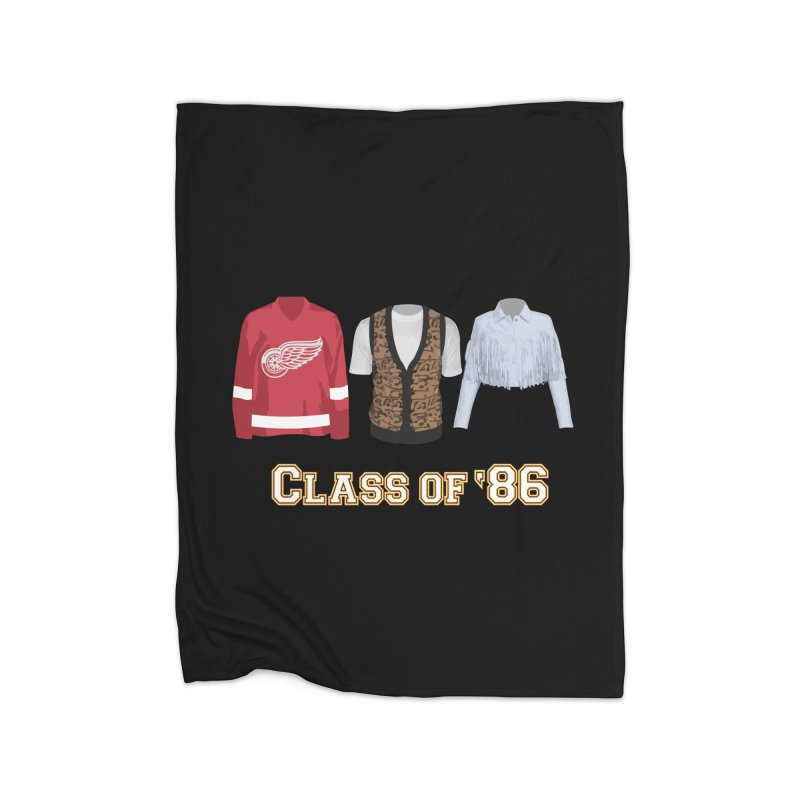 Class of '86 Home Blanket by Angela Tarantula