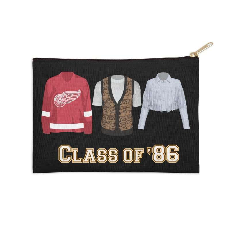 Class of '86 Accessories Zip Pouch by Angela Tarantula