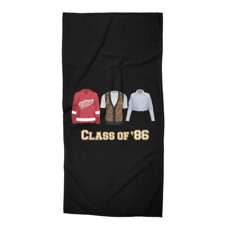 Class of '86 Accessories Beach Towel by Angela Tarantula