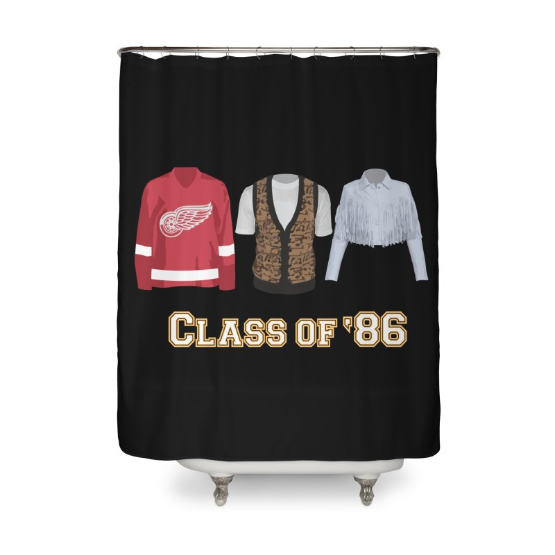 Class of '86 Home Shower Curtain by Angela Tarantula