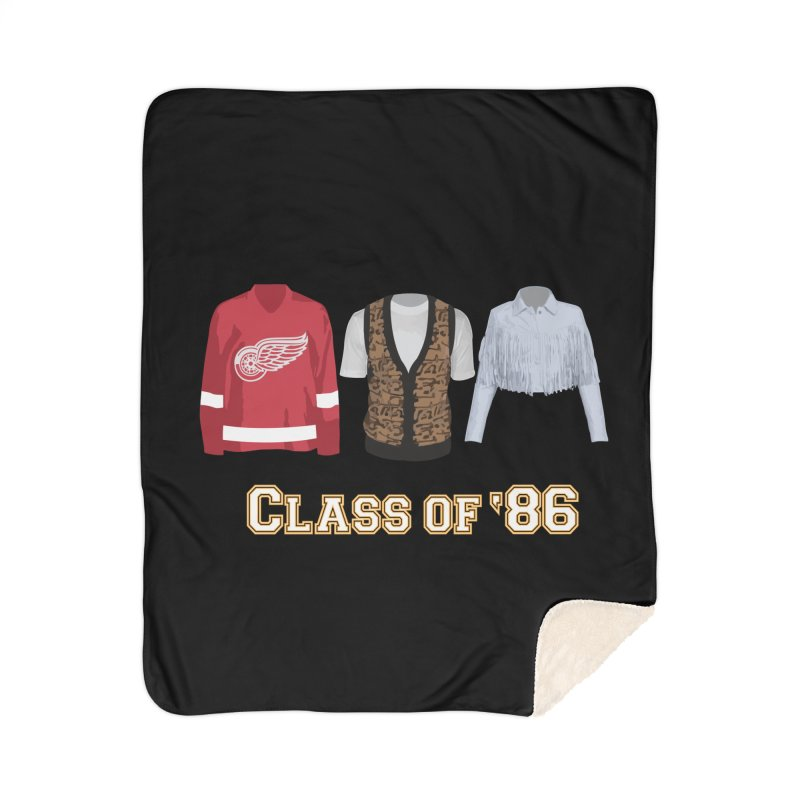 Class of '86 Home Sherpa Blanket Blanket by Angela Tarantula