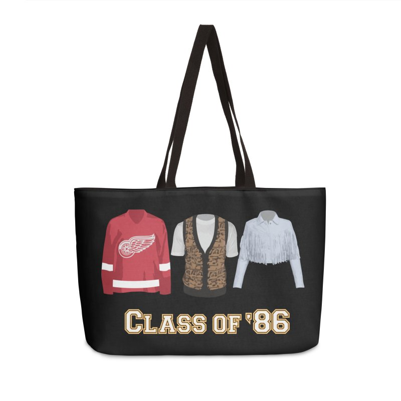 Class of '86 Accessories Bag by Angela Tarantula