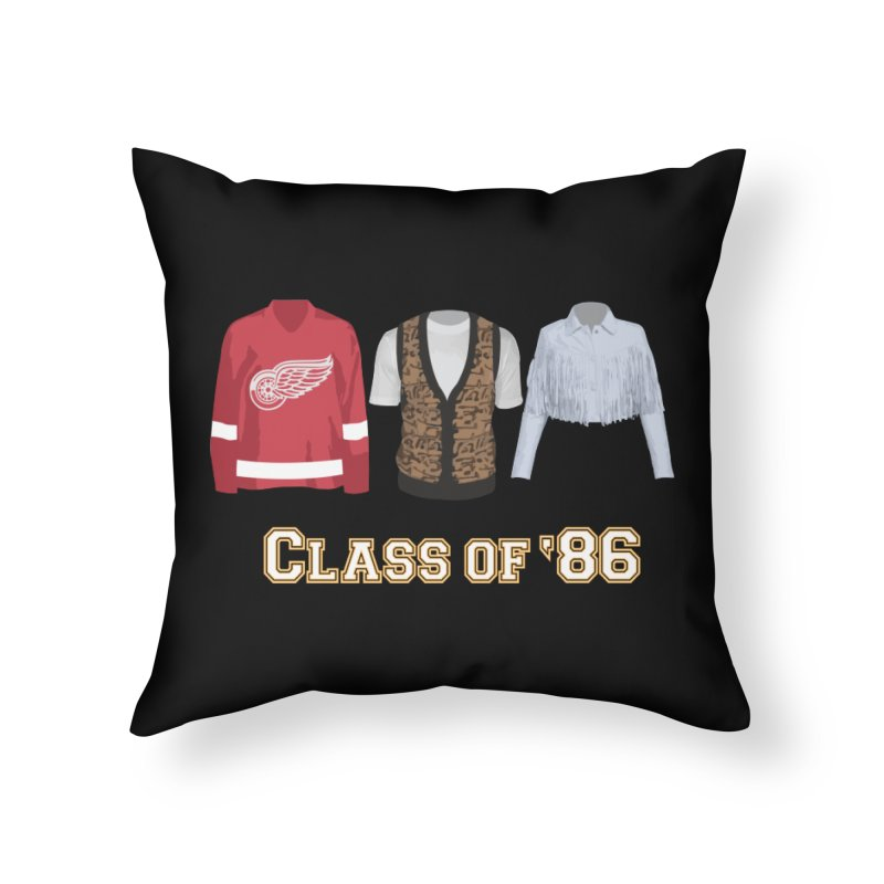 Class of '86 Home Throw Pillow by Angela Tarantula
