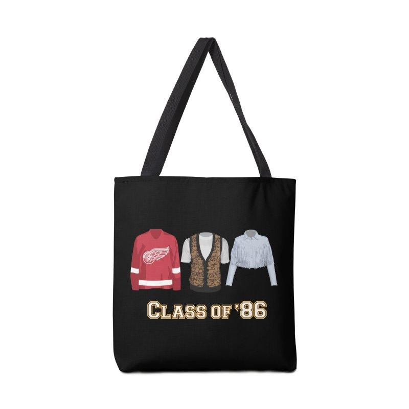 Class of '86 Accessories Bag by Angela Tarantula