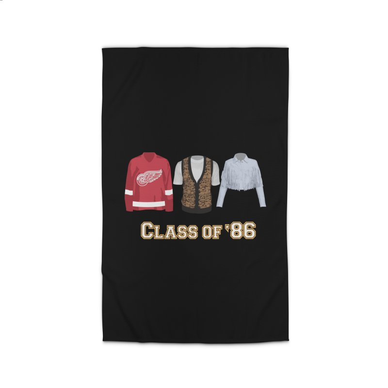 Class of '86 Home Rug by Angela Tarantula