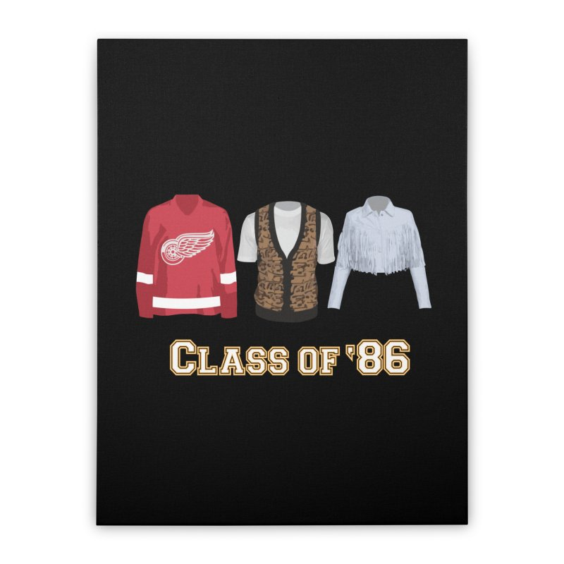 Class of '86 Home Stretched Canvas by Angela Tarantula