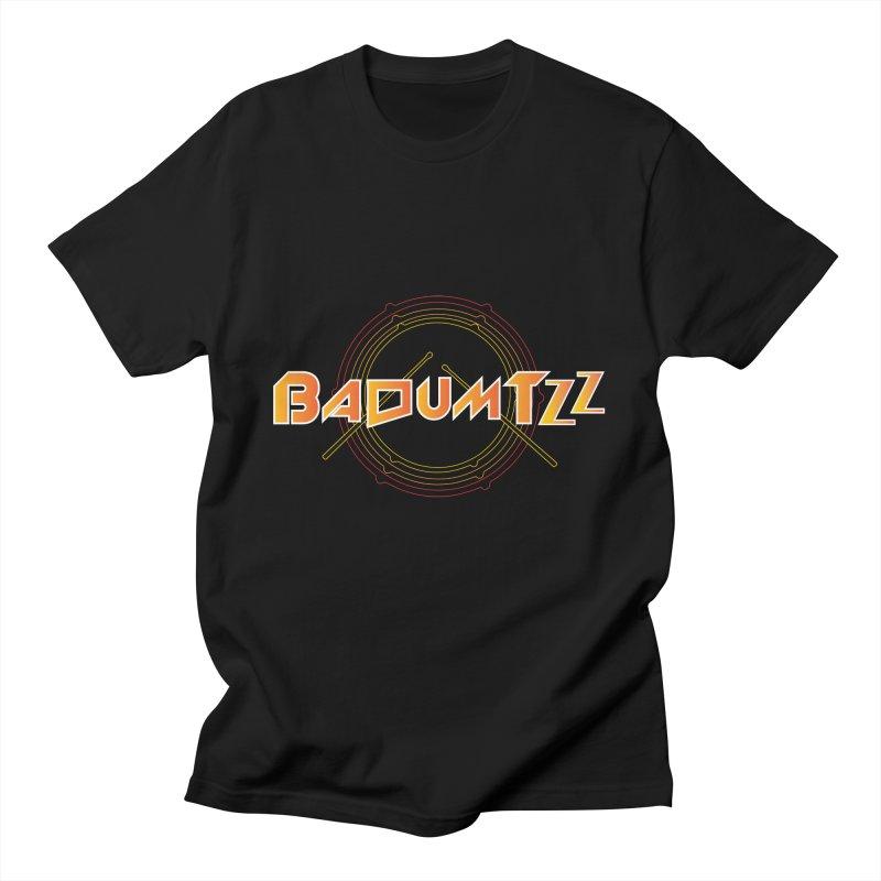 BaDumTZz Men's T-Shirt by Angela Tarantula
