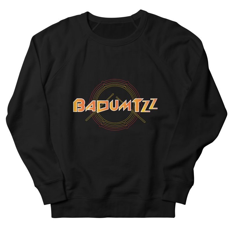 BaDumTZz Men's French Terry Sweatshirt by Angela Tarantula