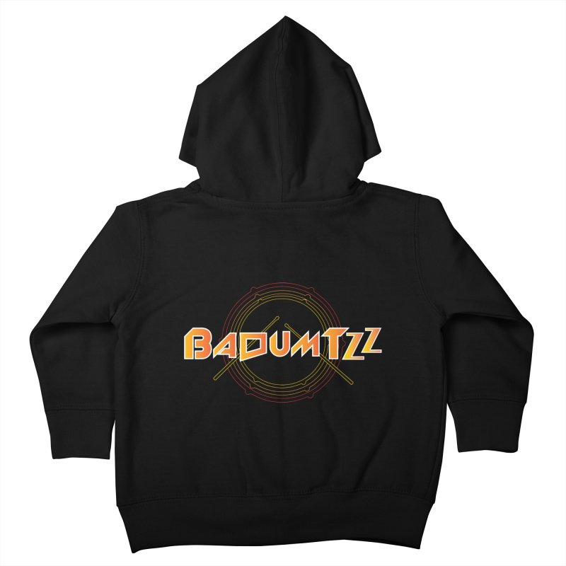BaDumTZz Kids Toddler Zip-Up Hoody by Angela Tarantula
