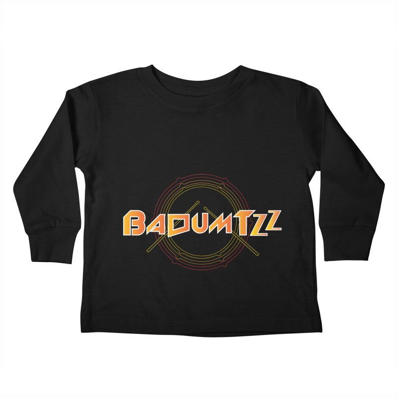 BaDumTZz Kids Toddler Longsleeve T-Shirt by Angela Tarantula
