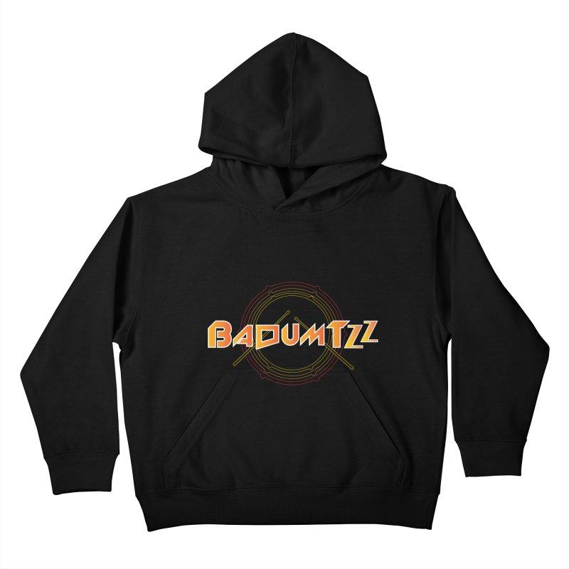 BaDumTZz Kids Pullover Hoody by Angela Tarantula