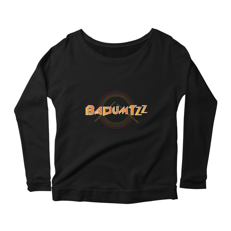 BaDumTZz Women's Scoop Neck Longsleeve T-Shirt by Angela Tarantula