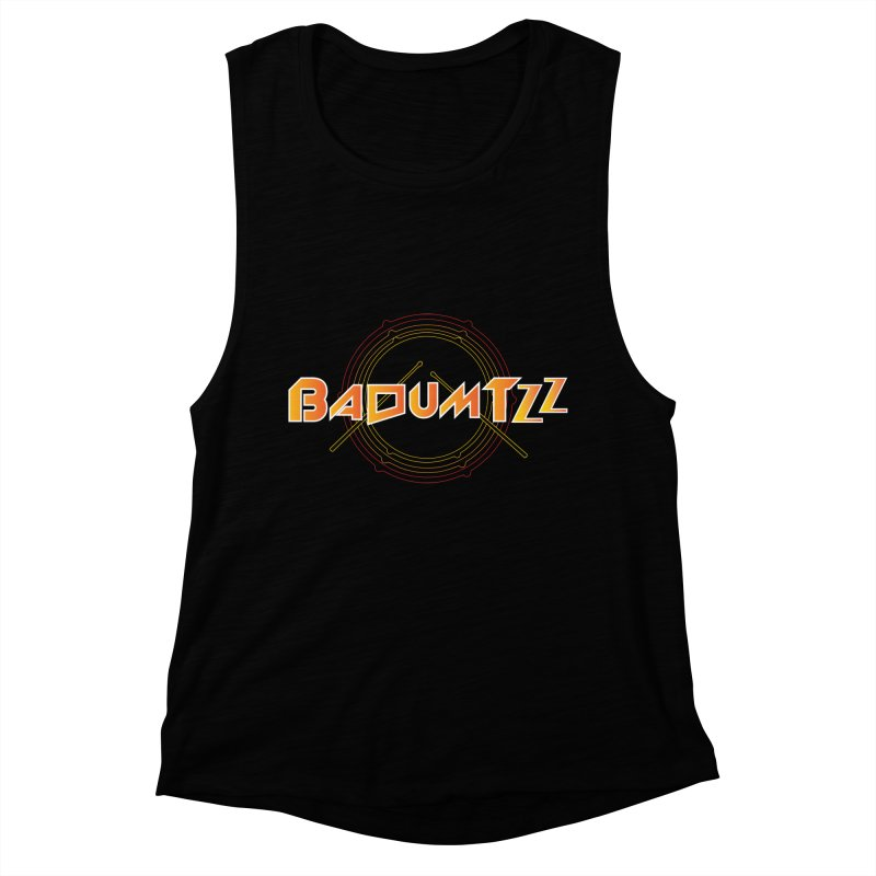 BaDumTZz Women's Muscle Tank by Angela Tarantula