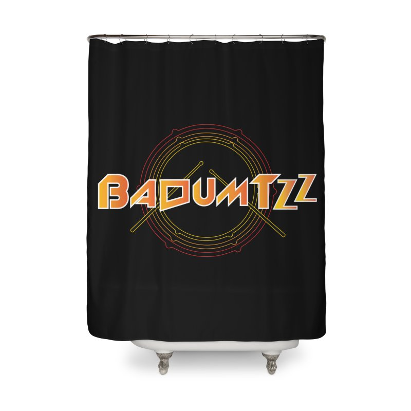 BaDumTZz Home Shower Curtain by Angela Tarantula