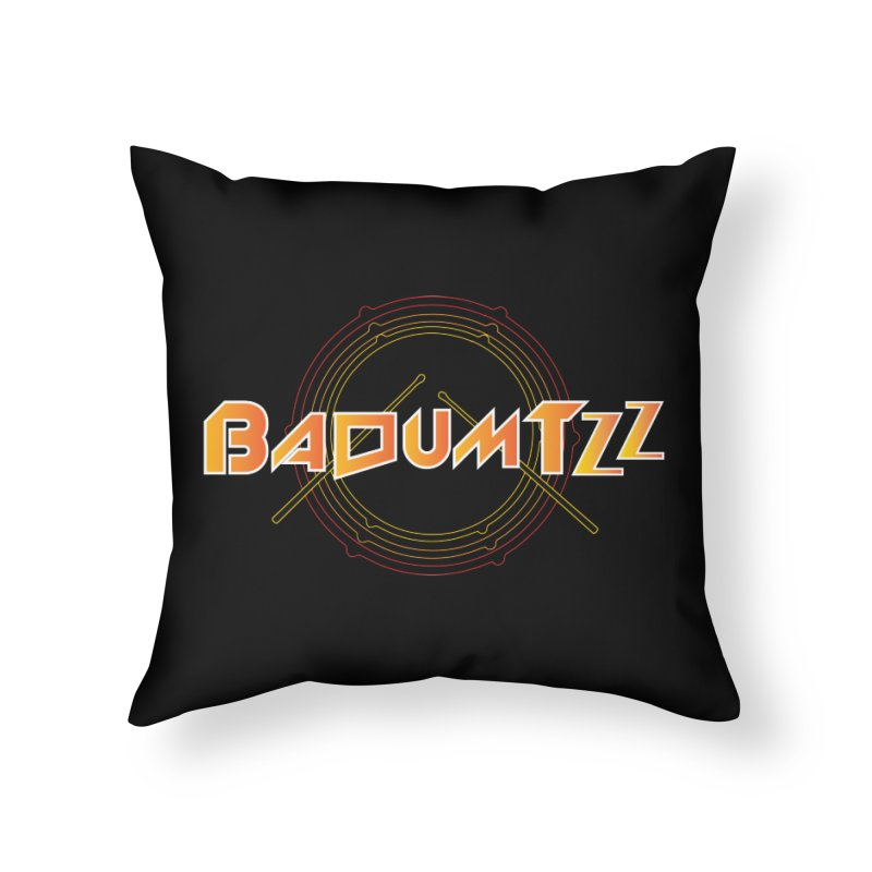 BaDumTZz Home Throw Pillow by Angela Tarantula