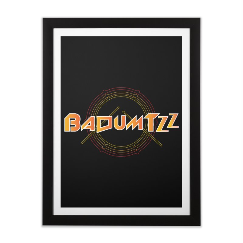 BaDumTZz Home Framed Fine Art Print by Angela Tarantula