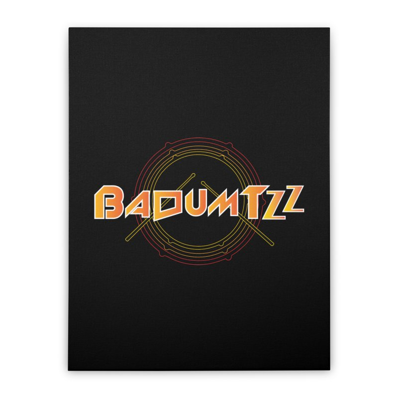 BaDumTZz Home Stretched Canvas by Angela Tarantula