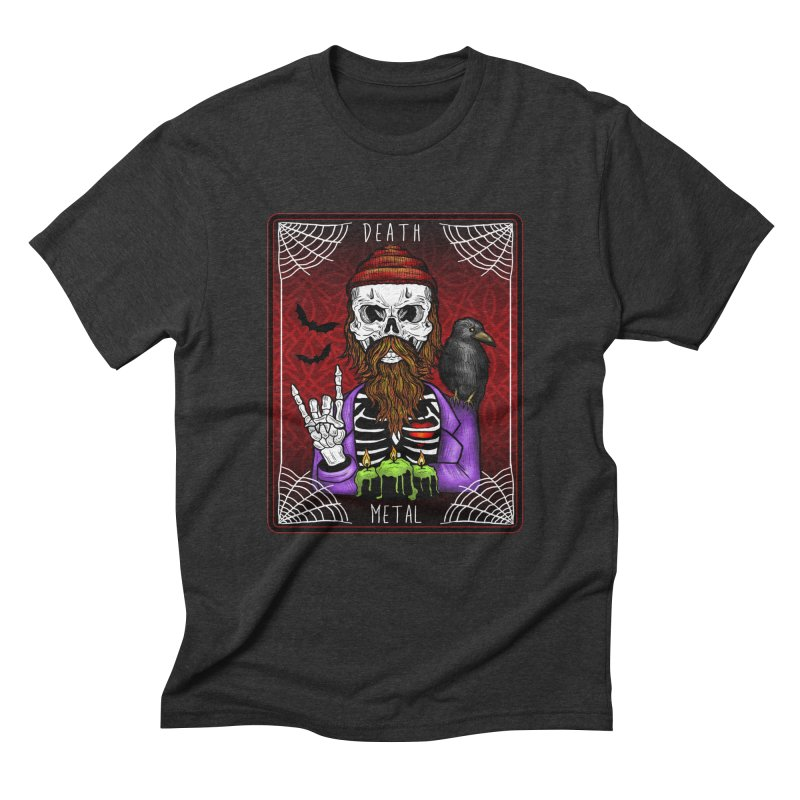 Death Metal Tarot Men's Triblend T-Shirt by Angela Tarantula
