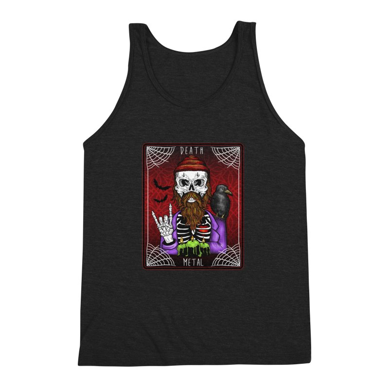 Death Metal Tarot Men's Triblend Tank by Angela Tarantula