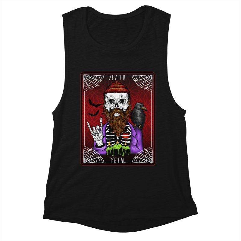 Death Metal Tarot Women's Muscle Tank by Angela Tarantula