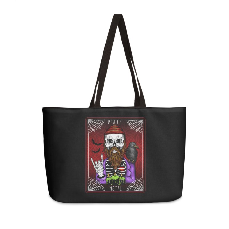 Death Metal Tarot Accessories Bag by Angela Tarantula