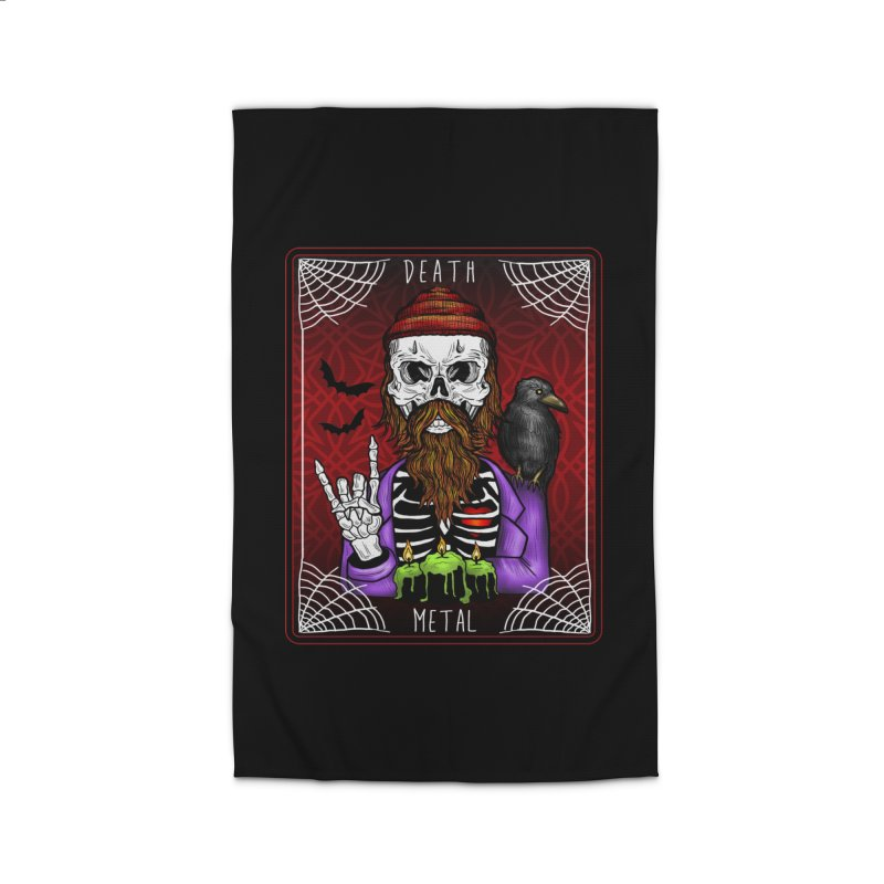 Death Metal Tarot Home Rug by Angela Tarantula