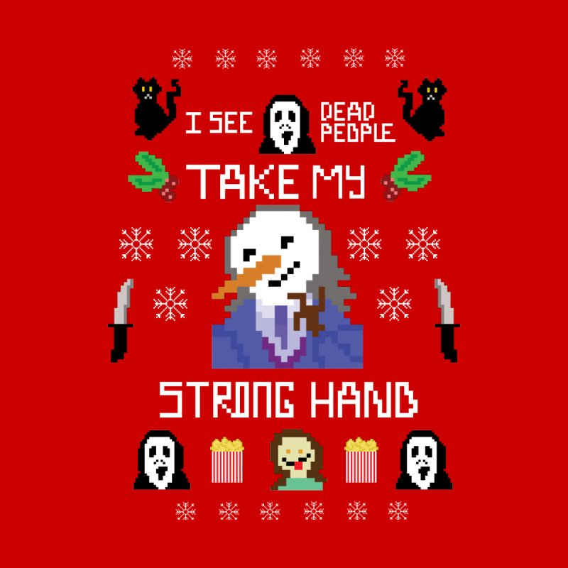 Take My Strong Hand Accessories Bag by Angela Tarantula