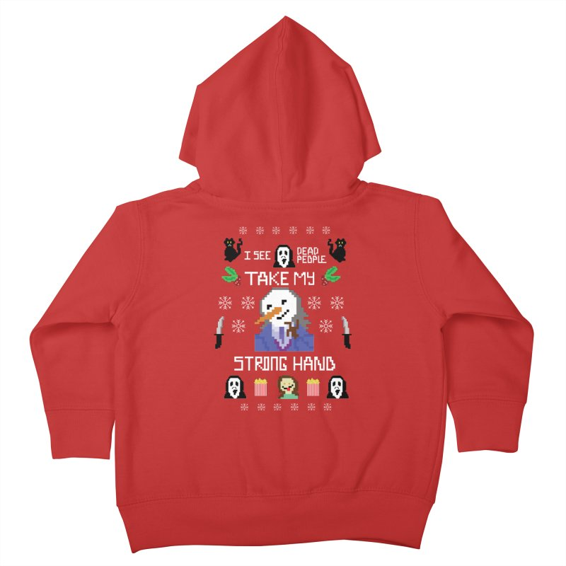 Take My Strong Hand Kids Toddler Zip-Up Hoody by Angela Tarantula