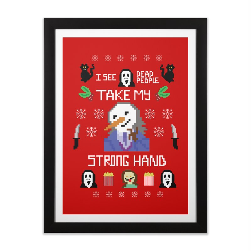 Take My Strong Hand Home Framed Fine Art Print by Angela Tarantula