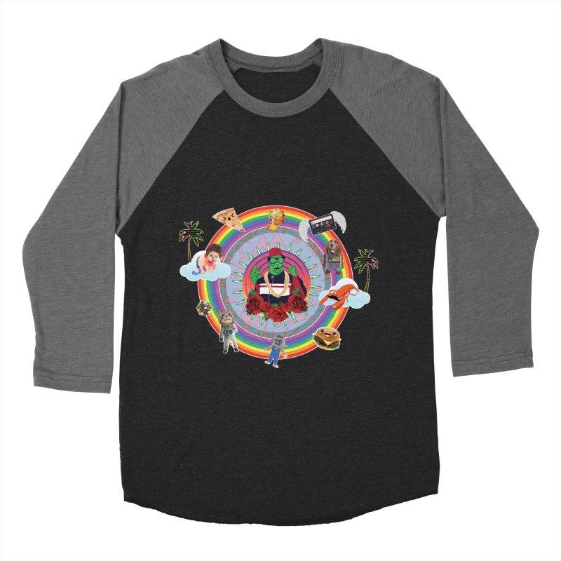 Radzilla Women's Baseball Triblend Longsleeve T-Shirt by Angela Tarantula