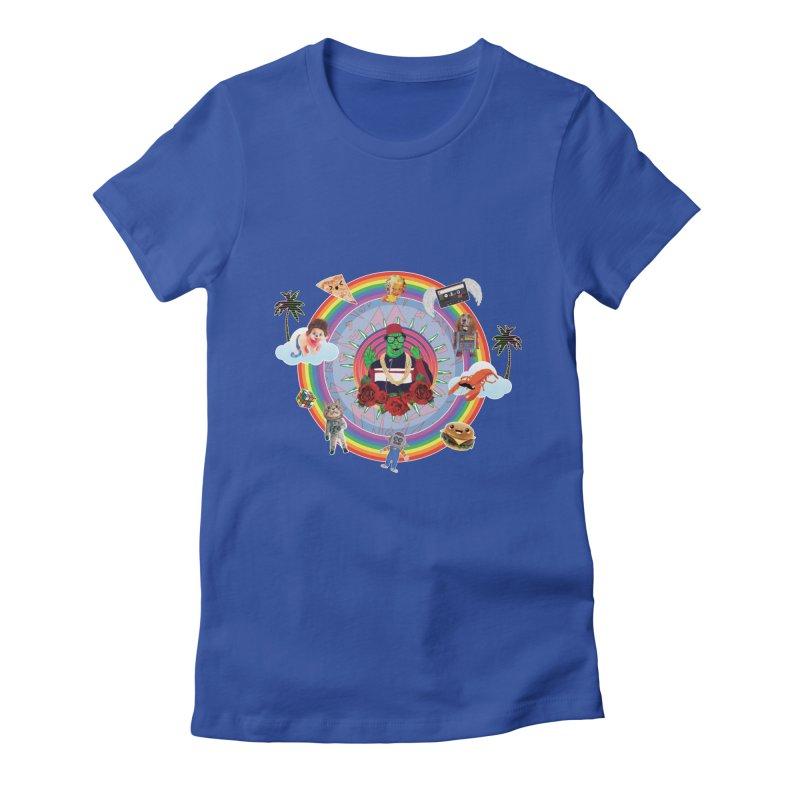 Radzilla Women's Fitted T-Shirt by Angela Tarantula