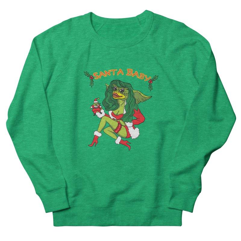 Santa Baby Women's Sweatshirt by Angela Tarantula