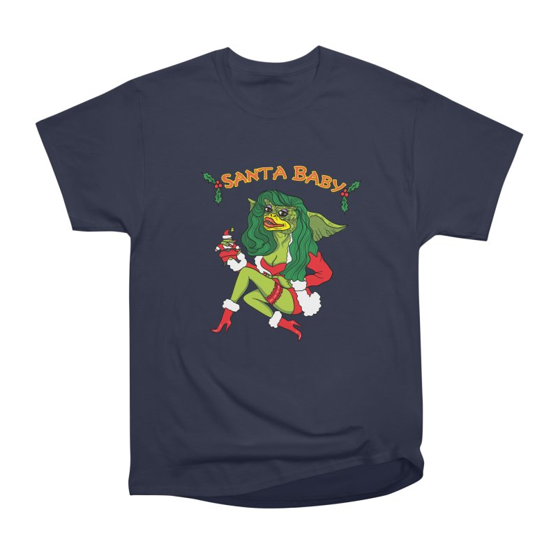 Santa Baby Women's Heavyweight Unisex T-Shirt by Angela Tarantula