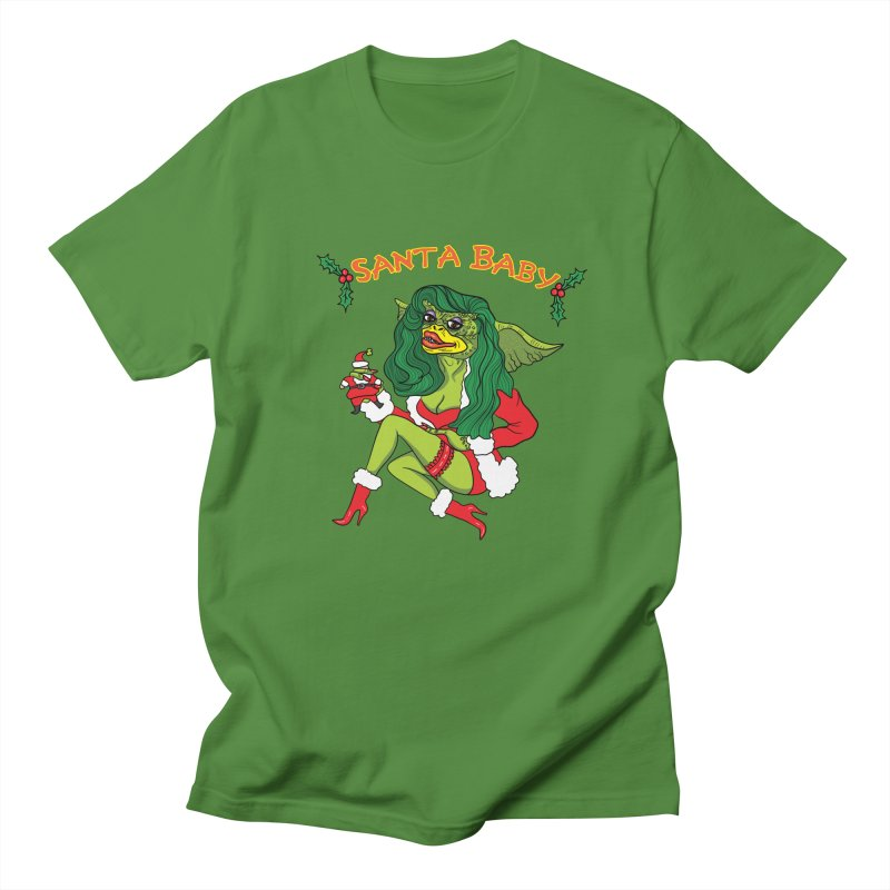 Santa Baby Women's Regular Unisex T-Shirt by Angela Tarantula