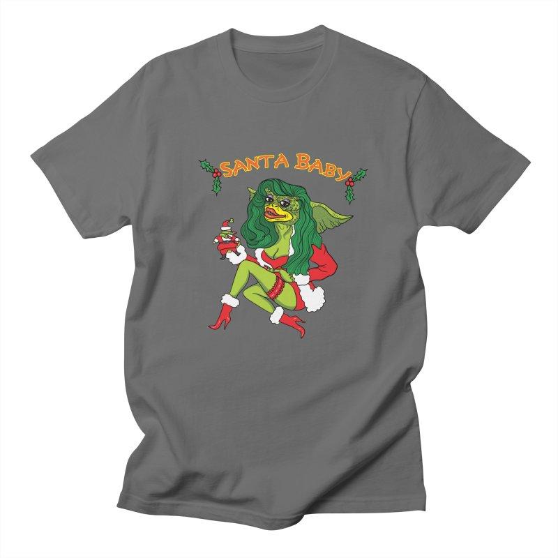 Santa Baby Men's T-shirt by Angela Tarantula