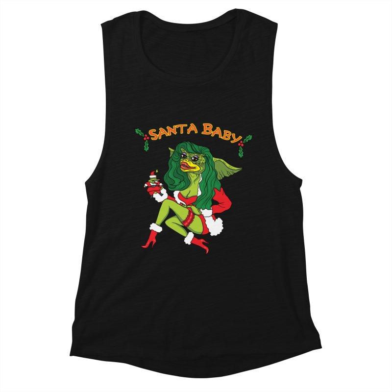 Santa Baby Women's Tank by Angela Tarantula