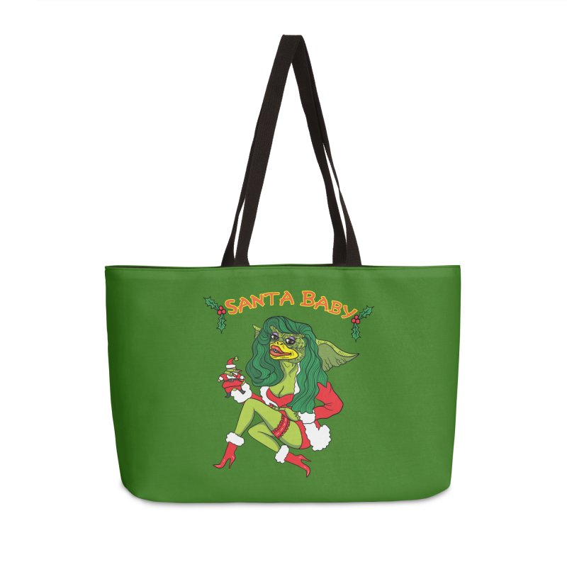 Santa Baby Accessories Bag by Angela Tarantula